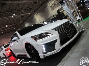 Osaka Auto Messe 2014 Car & Customize Motor Show Intex Custom Black Pearl JEWELRY LEXUS LS