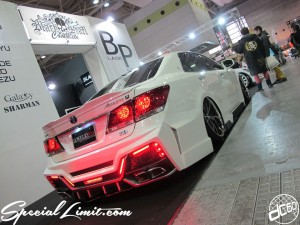 Osaka Auto Messe 2014 Car & Customize Motor Show Intex Custom Wide Body Black Pearl SEWELRY CROWN Athlete Body Kit