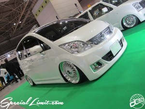 Osaka Auto Messe 2014 Car & Customize Motor Show Intex Custom EXE STYLE MOVE Slammed