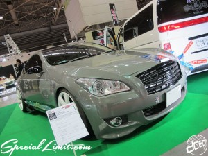 Osaka Auto Messe 2014 Car & Customize Motor Show Intex Custom V35 SKYLINE FUGA Face