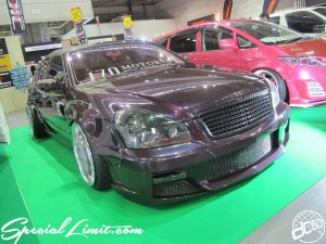 Osaka Auto Messe 2014 Car & Customize Motor Show Intex Custom 170 MOTORING CIMA
