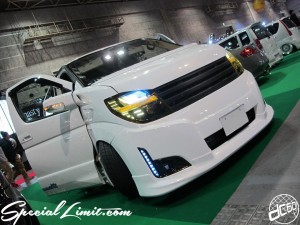 Osaka Auto Messe 2014 Car & Customize Motor Show Intex Custom ELGRAND