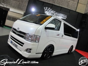 Osaka Auto Messe 2014 Car & Customize Motor Show Intex Custom run together JLS HIACE