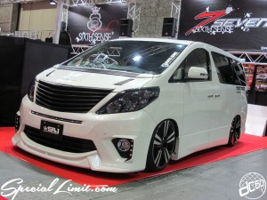 Osaka Auto Messe 2014 Car & Customize Motor Show Intex Custom SIXTH SENCE SRJ Slammed Alphard