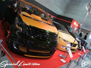 Osaka Auto Messe 2014 Car & Customize Motor Show Intex Custom Master Class Alphard WAGONNIST