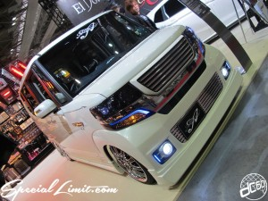 Osaka Auto Messe 2014 Car & Customize Motor Show Intex Custom N-BOX HONDA