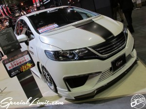 Osaka Auto Messe 2014 Car & Customize Motor Show Intex Custom New FIT Crave