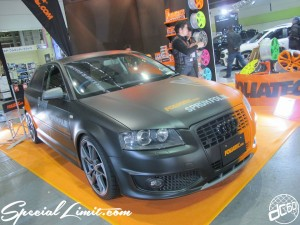 Osaka Auto Messe 2014 Car & Customize Motor Show Intex Custom FOLIATEC Audi A3