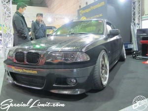 Osaka Auto Messe 2014 Car & Customize Motor Show Intex Custom Vewrapps BMW E46 Leather Wrapping