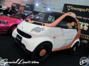 Osaka Auto Messe 2014 Car & Customize Motor Show Intex Custom Vewraps SMART Wrapping