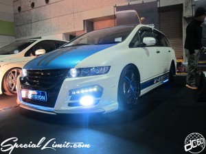Osaka Auto Messe 2014 Car & Customize Motor Show Intex Custom V-VISION Odyssey RB