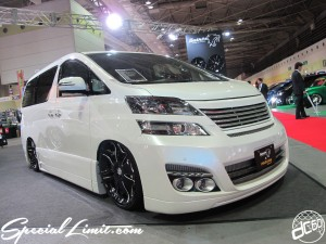 Osaka Auto Messe 2014 Car & Customize Motor Show Intex Custom Balken Vellfire NEWS