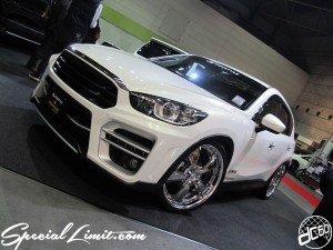 Osaka Auto Messe 2014 Car & Customize Motor Show Intex Custom KENSTYLE CX-5 PARADA