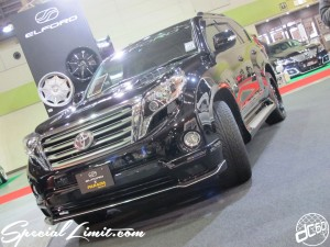 Osaka Auto Messe 2014 Car & Customize Motor Show Intex Custom ELFORD Land Cruiser PRADO PARADA