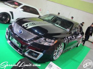 Osaka Auto Messe 2014 Car & Customize Motor Show Intex Custom LEVEL VS LEXUS LS Slammed