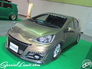 Osaka Auto Messe 2014 Car & Customize Motor Show Intex Custom V-Style α AQUA Slammed