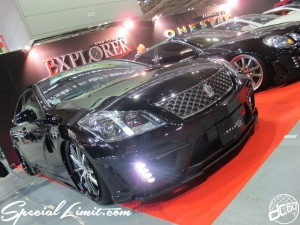 Osaka Auto Messe 2014 Car & Customize Motor Show Intex Custom EXPLORER ONE STAR CROWN