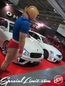 Osaka Auto Messe 2014 Car & Customize Motor Show Intex Custom ONE STAR Booth