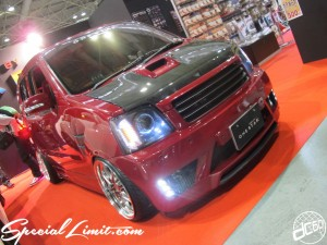 Osaka Auto Messe 2014 Car & Customize Motor Show Intex Custom ONE STAR WAGON R