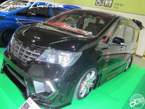 Osaka Auto Messe 2014 Car & Customize Motor Show Intex Custom Make-up Body Kit
