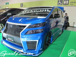 Osaka Auto Messe 2014 Car & Customize Motor Show Intex Custom Make-up Body Kit Vellfire