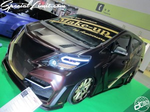 Osaka Auto Messe 2014 Car & Customize Motor Show Intex Custom Make-up Body Kit Alphard