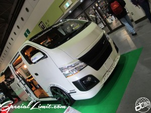 Osaka Auto Messe 2014 Car & Customize Motor Show Intex Custom Body Line Caravan NV350