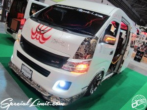 Osaka Auto Messe 2014 Car & Customize Motor Show Intex Custom NV350 CARAVAN
