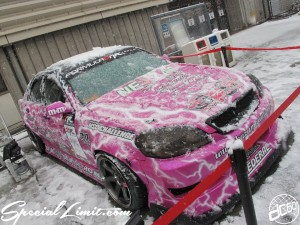 Osaka Auto Messe 2014 Car & Customize Motor Show Intex Custom Mark2 Snow Drift