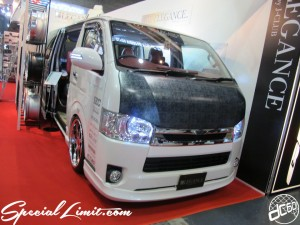 Osaka Auto Messe 2014 Car & Customize Motor Show Intex Custom HIACE
