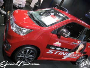 Osaka Auto Messe 2014 Car & Customize Motor Show Intex Custom SUZUKI WagonR STINGRAY