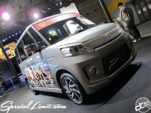 Osaka Auto Messe 2014 Car & Customize Motor Show Intex Custom SUZUKI Spacia