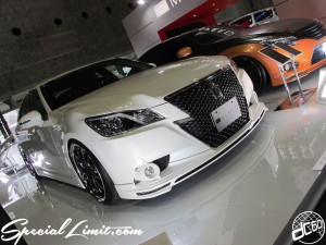 Osaka Auto Messe 2014 Car & Customize Motor Show Intex Custom M'z Speed Crown Athlete