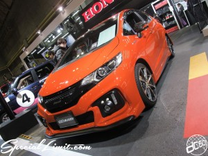 Osaka Auto Messe 2014 Car & Customize Motor Show Intex Custom HONDA MUGEN Fit