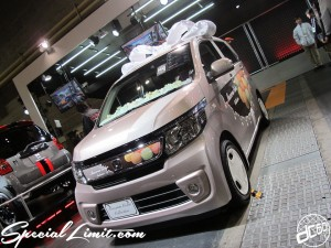 Osaka Auto Messe 2014 Car & Customize Motor Show Intex Custom HONDA N-Wagon