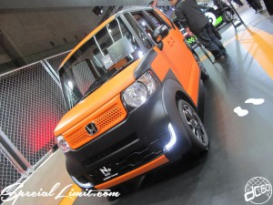 Osaka Auto Messe 2014 Car & Customize Motor Show Intex Custom HONDA N-BOX+