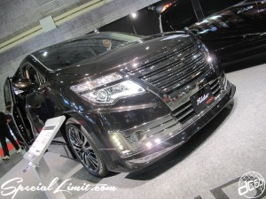 Osaka Auto Messe 2014 Car & Customize Motor Show Intex Custom NISSAN Elgrand Rider Autech