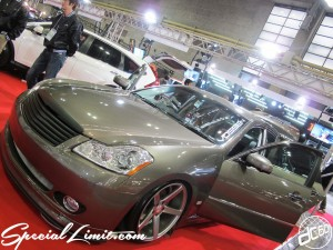 Osaka Auto Messe 2014 Car & Customize Motor Show Intex Custom NISSAN FUGA E:STEEM VOSSEN CV5 Audio