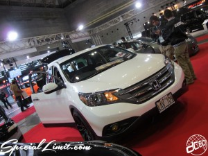 Osaka Auto Messe 2014 Car & Customize Motor Show Intex Custom HONDA CR-V E:STEEM Audio WORK