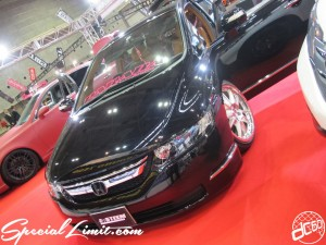 Osaka Auto Messe 2014 Car & Customize Motor Show Intex Custom E:STEEM HONDA ODYSSEY PARADA Audio