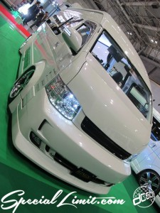 Osaka Auto Messe 2014 Car & Customize Motor Show Intex Custom Wings HIACE
