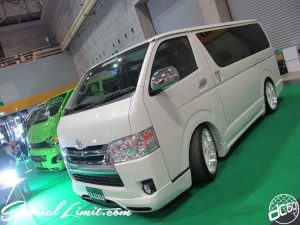 Osaka Auto Messe 2014 Car & Customize Motor Show Intex Custom ex style HIACE