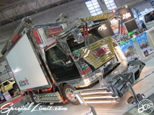 Osaka Auto Messe 2014 Car & Customize Motor Show Intex Custom Decoration TRUCK 2t MITSUBISHI CANTER
