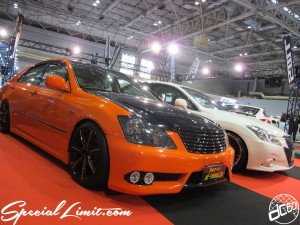 Osaka Auto Messe 2014 Car & Customize Motor Show Intex Custom al-mauj TOYOTA CROWN