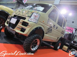 Osaka Auto Messe 2014 Car & Customize Motor Show Intex Custom Auto Cross SUZUKI Every High Lift