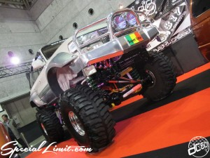 Osaka Auto Messe 2014 Car & Customize Motor Show Intex Custom Super Low Land Cruiser 80 High Lift