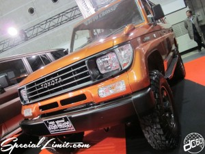 Osaka Auto Messe 2014 Car & Customize Motor Show Intex Custom Auto Cross Land Cruiser PRADO