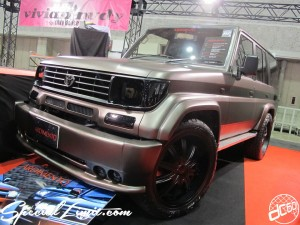 Osaka Auto Messe 2014 Car & Customize Motor Show Intex Custom ADIMENTO Land Cruiser PRADO