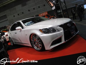 Osaka Auto Messe 2014 Car & Customize Motor Show Intex Custom LEXIS LS Body Kit