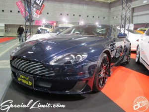 Osaka Auto Messe 2014 Car & Customize Motor Show Intex Custom al-mauj Aston Martin Body Kit
